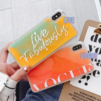 Neon sand fashion  iphone case