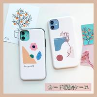 Flower mood slide card case (スライドカード収納ケース)