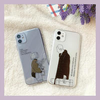 Leon matilda color drawing clear case