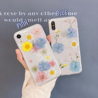 Summer dry flower iphone case