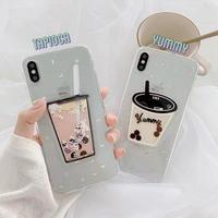 Tapioca yummy iphone case