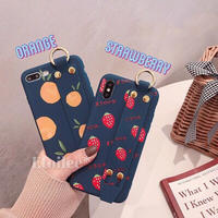 Fruits TPU strap iphone case
