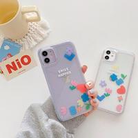 Smile happier quicksand iphone case