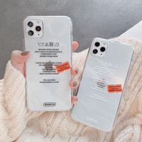 Laundry message iphone case