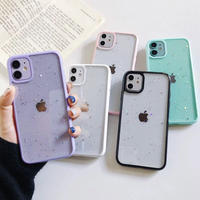 Star glitter color side iphone case