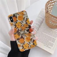 Summer flower shell  iphone case
