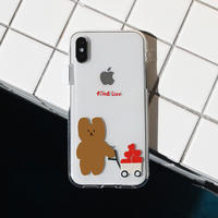 Find luv bear clear case