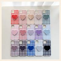 Check heart color chip case