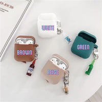 Airpods with drink strap case