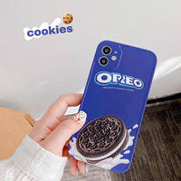 Chocolate cookie iphone case