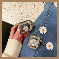 Daisy  silver airpods case