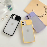 Camera protection clear iphone case