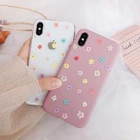 Random flower printing  iphone case