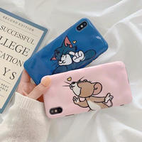 Mouse cat pink blue  iphone case