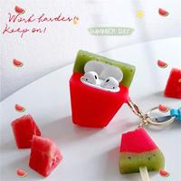 Watermelon bar airpods case