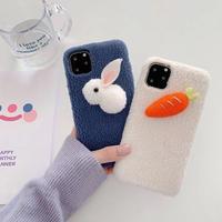 Rabbit carrot iphone case
