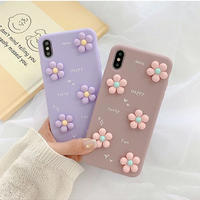 Flower purple pink  iphone case
