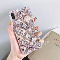 Ethnic gold quicksand iphone case