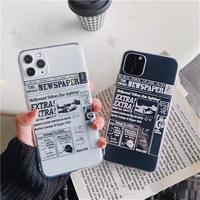 Newspaper iphone case