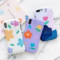 Flower ABC iphone case