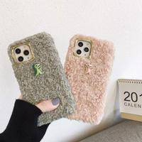 Dinosaur fur iphone case