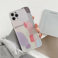 Color painting iphone case