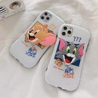 Mouse cat with big grip iphone case