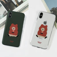 Hoodie quokka hard/clear case 291 (Red)