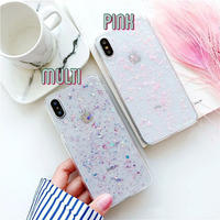Color glitter iphone case
