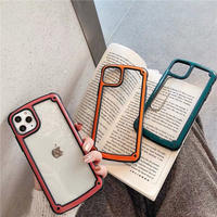 Simple side iphone case (Green, Red, Orange)
