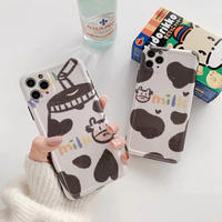Milk pattern drawing iphone case