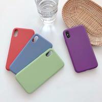 Silicone simple iphone case