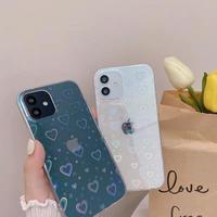 Heart laser iphone case