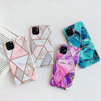Geometry marble iphone case