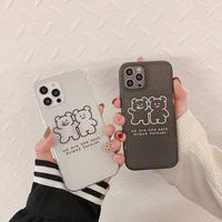 Best friend bear iphone case