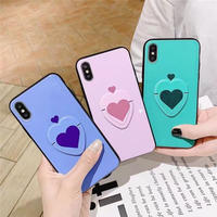 Big heart grip  iphone case