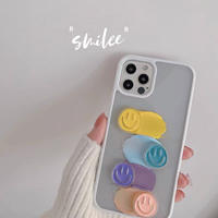 Smile white side iphone case