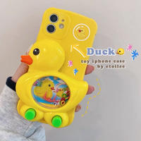 Duck toy iphone case
