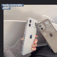 Lucky everyday heart iphone case