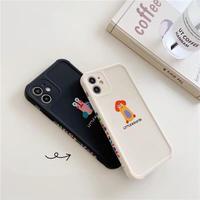 Little monster ivory black iphone case