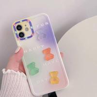Color jellybear iphone case