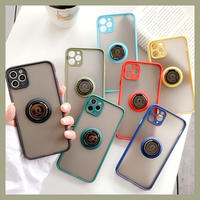 7colors with metal ring iphone case