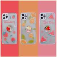 Fruits 3d color side iphone case
