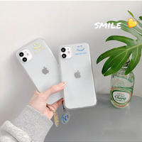 Keep you smile strap clear iphone case