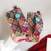 Ethnic strap iphone case