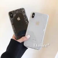 Glitter frame iphone case