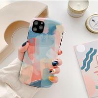 Pastel painting iphone case