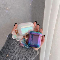 Hologram butterfly keyring airpods case