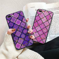 Ethnic purple pink iphone case
