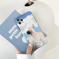 Cloudy woman iphone case